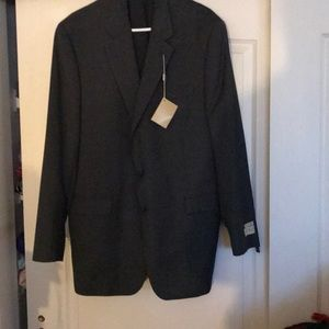 NWT sz 46 long grey sports coat by Lauren